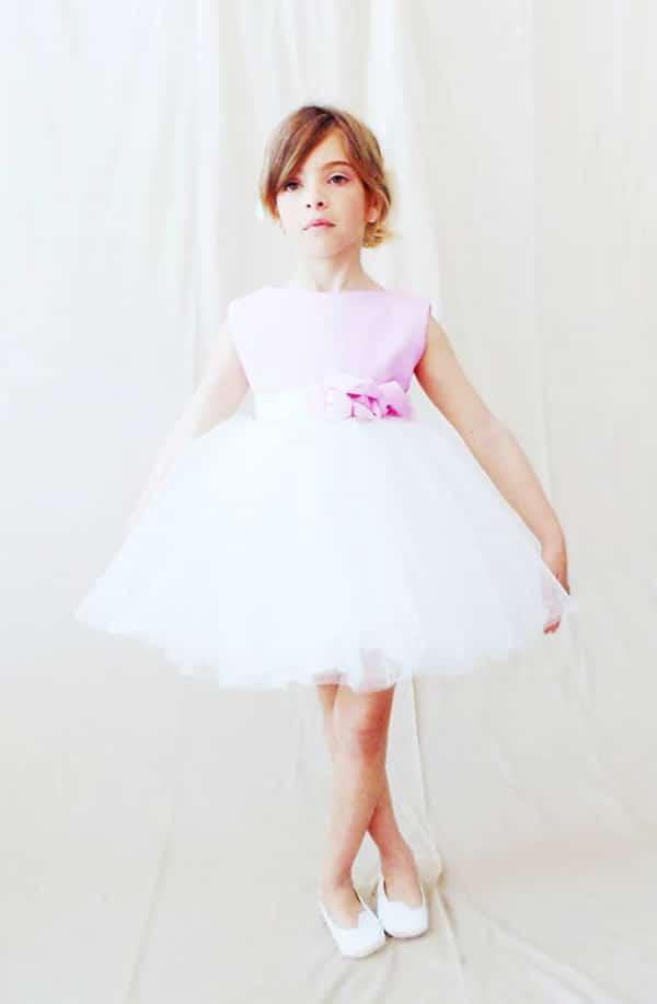 Φορεμα για παρανυφακια με tutu