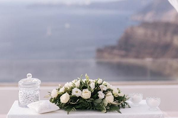 Λευκα λουλουδια γαμου