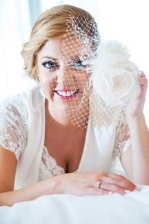 Vintage αξεσουαρ για τα μαλλια της νυφης
