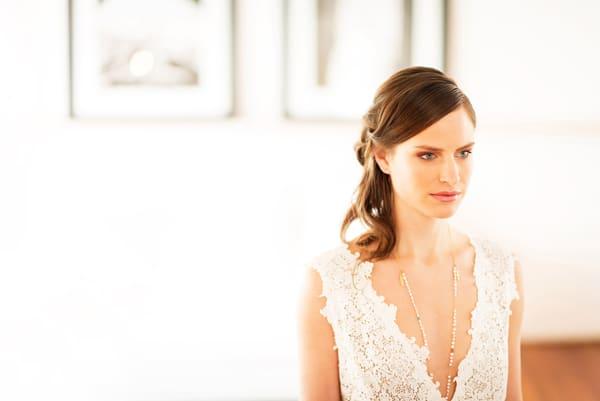Ρομαντικο μακιγιαζ για νυφη