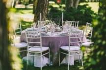 Elegant rustic διακοσμηση γαμου