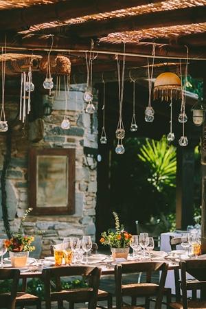 Ρουστικ διακοσμηση για Φθινοπωρινο γαμο