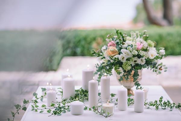 Στολισμος γαμου με κερακια
