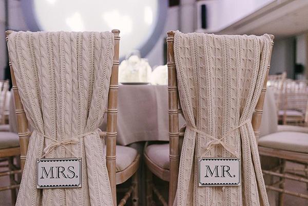Στολισμος καρεκλας της νυφης