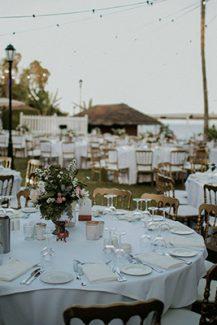 Διακοσμη γαμου με vintage λεπτομερειες