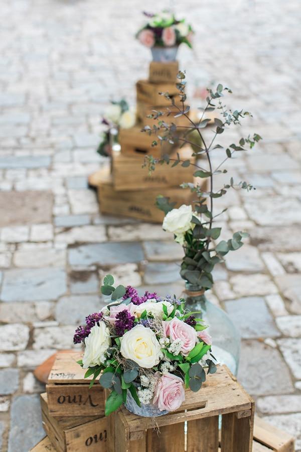 Ρομαντικος στολισμος γαμου