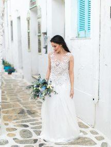 Νυφικη ανθοδεσμη για γαμο σε νησι