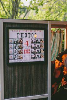 Photobooth – Ομορφη ιδεα γαμου