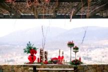 Ιδεες διακοσμησης για γαμο τα Χριστουγεννα