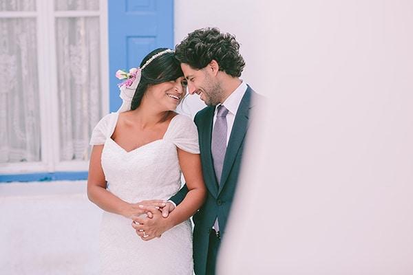 Boho chic γάμος στη Μύκονο | Ingrid and Tony