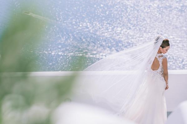 Chic γαμος στη Σαντορίνη