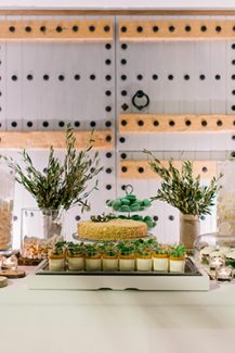 Rustic dessert table δεξιωσης