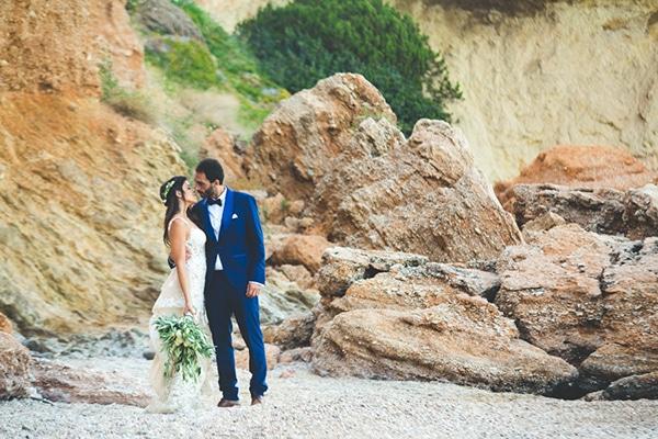 Καλοκαιρινός γάμος με ελιά |  Μελίνα & Φάντι