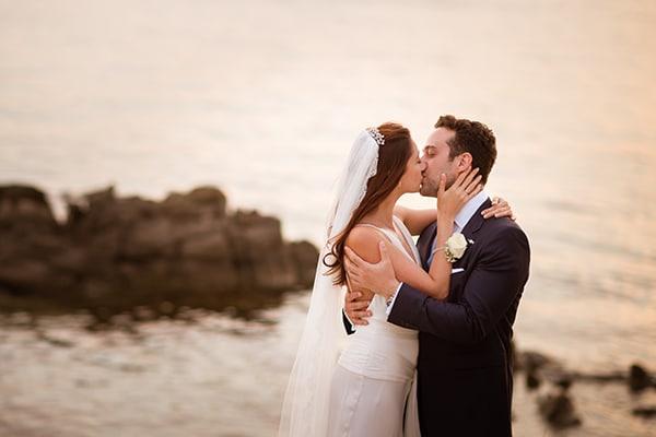 Όμορφος γάμος στη Μύκονο | Lara & George