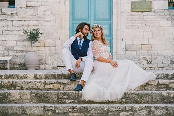 Ρομαντικός γάμος στη Χαλκιδική |  Στελίνα & Βασίλης