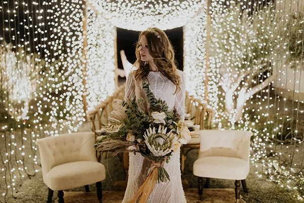 Boho desert wedding inspiration at the Aelia Hotel