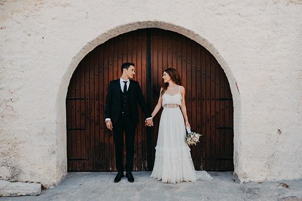 Πανέμορφος μποέμ γάμος  | Σοφία & Μιχάλης