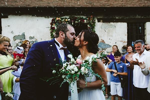 Ομορφος γαμος με vintage πινελιες | Νταιζη & Μαρινος