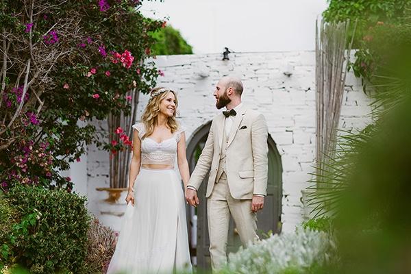 Ονειρεμένος γάμος με βουκαμβίλιες | Alexandra & Michael