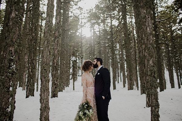 Παραμυθένιος Χριστουγεννιάτικος γάμος | Αντριάνα & Γιώργος