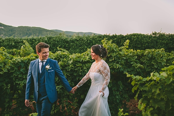 Organic γάμος με rustic λεπτομέρειες | Ειρήνη & Παναγιώτης