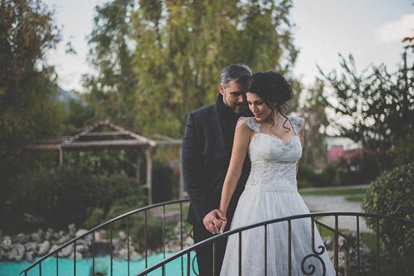 Φθινοπωρινος ρομαντικος γαμος | Ελενη & Θανασης