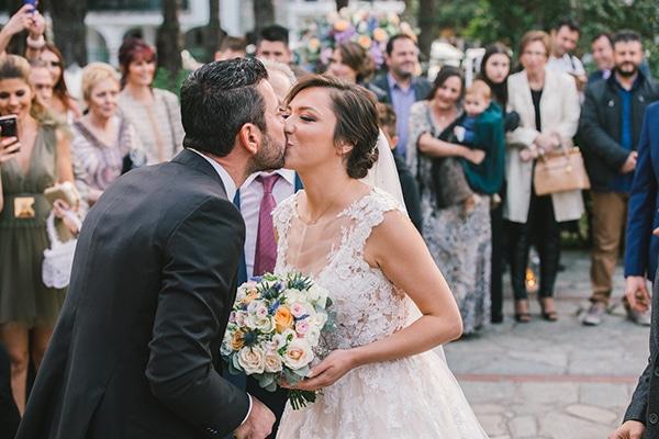 Φθινοπωρινός γάμος με παστέλ χρώματα | Ευδοξία & Γιώργος