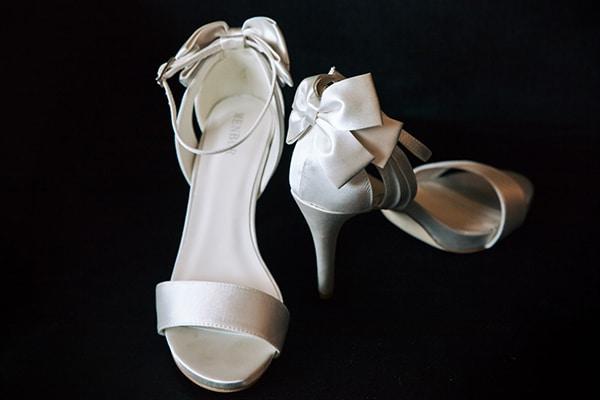 Menbur Νυφικα παπουτσια με φιογκο