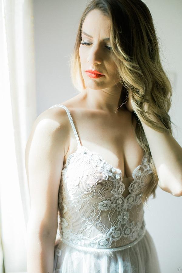 Ανάλαφρο χτένισμα για νύφη