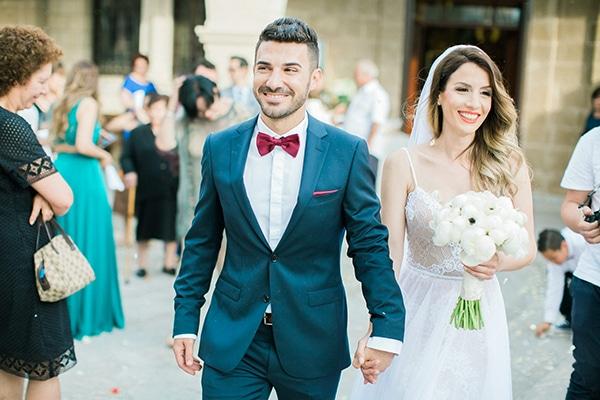 Ανοιξιατικος ολολευκος γαμος στην Κυπρο | Αριστη & Νεοφυτος