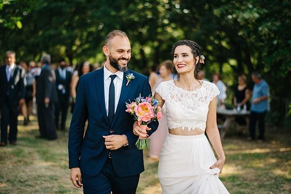 Ξεχωριστός γάμος με elegant ρουστίκ ύφος | Έλλη & Δημοσθένης