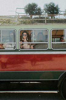 Vintage λεωφορείο