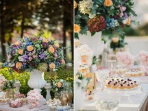 Στολισμος εκκλησιας με παστελ αποχρωσεις λουλουδιων