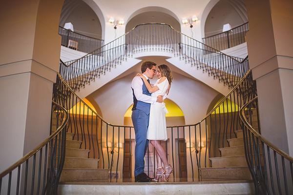 Πανέμορφος ρουστίκ γάμος με λουλούδια | Eleni & Lewis