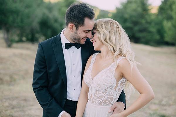 Chic ρομαντικός γάμος με παστέλ αποχρώσεις | Αγγελική & Δημήτρης