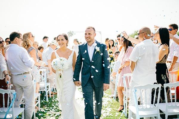 Chic καλοκαιρινός γάμος στην Κρήτη