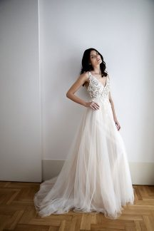 Anna Anemomilou νυφικο φορεμα