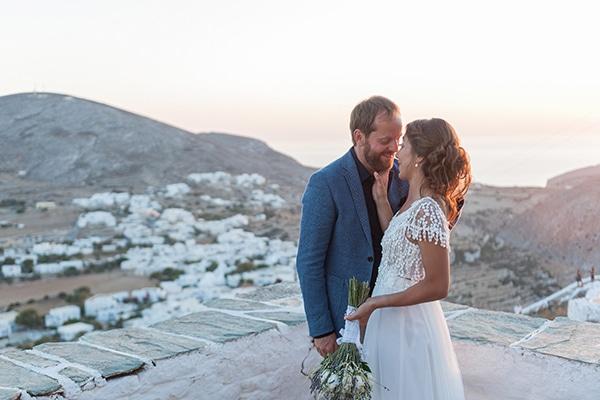Ρομαντικός γάμος με λεβάντα | Έφη & Θοδωρής
