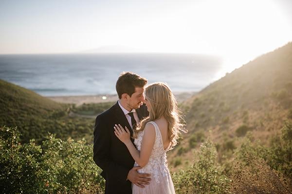 Ρομαντικός γάμος σε παστέλ τόνους | Έφη & Γιάννης