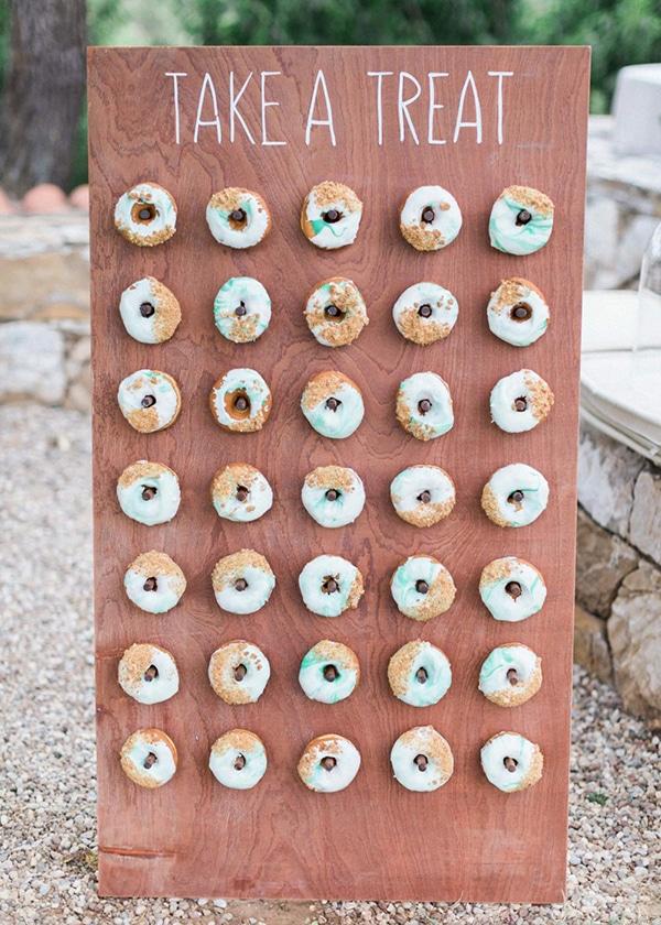 Donuts για τους καλεσμενους σας