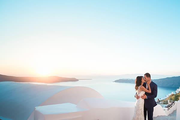 Όμορφος γάμος σε λευκούς και μπεζ τόνους | Monique & Νίκος