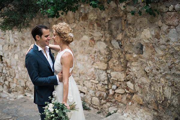 Chic classic γάμος στην Πλάκα | Αδαμαντία & Κωνσταντίνος
