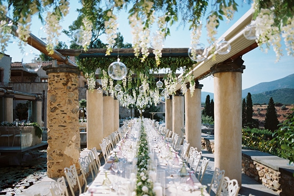 Chic stylish ιδεες διακοσμησης γαμου σε απαλες αποχρωσεις