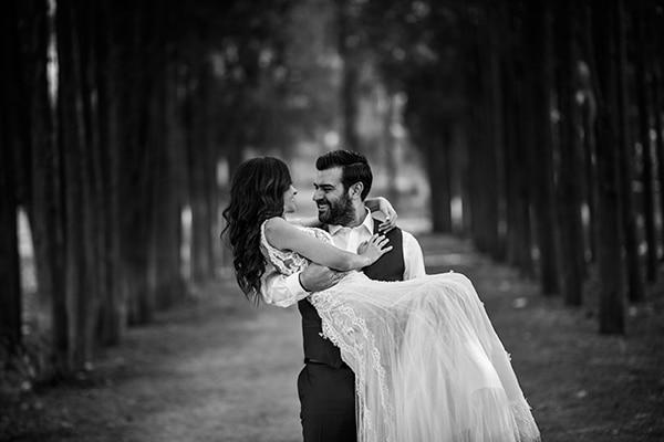 Ονειρικός γάμος με chic elegant λεπτομέρειες | Μαρία & Άρης
