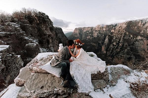 Ονειρικη φωτογραφιση γαμου στο Παπιγκο