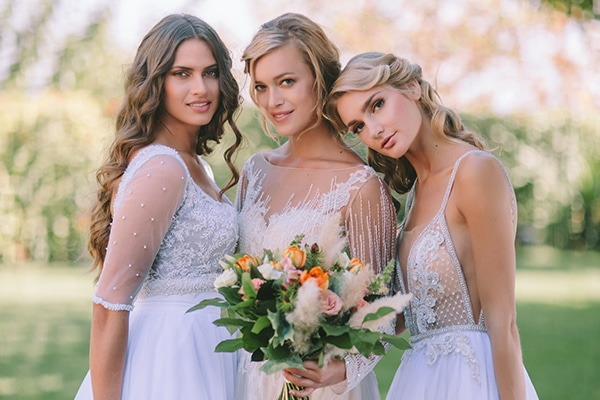 Heavenly and utterly romantic bridal editorial