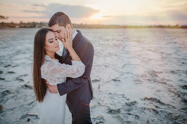 Στρατιωτικος γαμος σε λευκους και ασημενιους τονους | Ξενια & Λεωνιδας