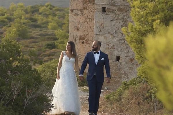 Μοντερνος καλοκαιρινος γαμος | Γιωτα & Βασιλης