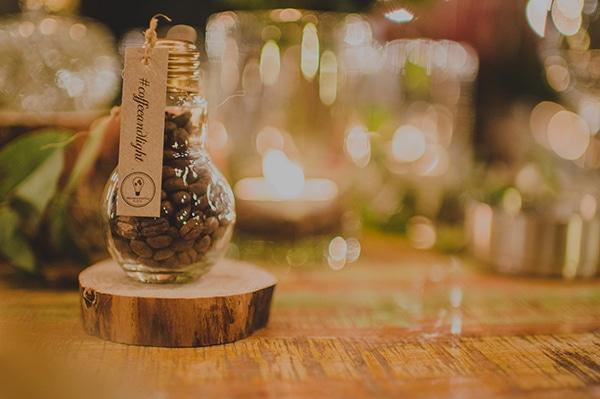 Πρωτότυπη μπομπονιέρα – κόκκοι καφέ