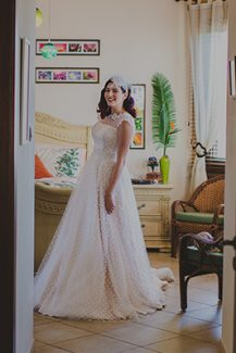 Vintage Litous νυφικο φορεμα